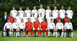 Group photo German national squad for FIFA 2010 World Cup